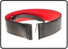 Belts SO-Standard red lined belt
