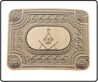 Buckles Antique Celtic Masonic Buckle