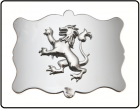 Buckles Chrome Plain Lion