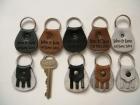 Engraved keyrings